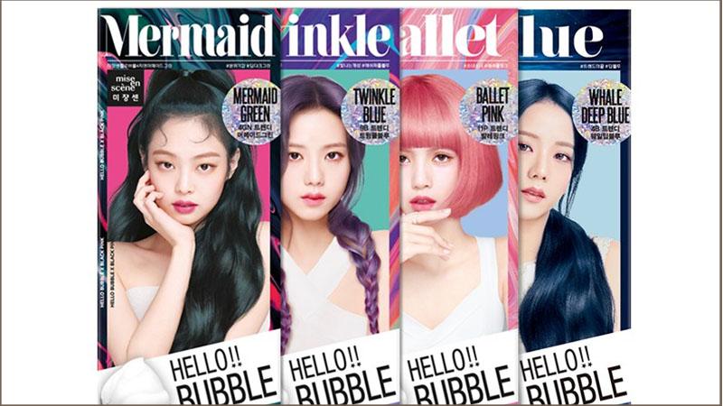Một số loại thuốc nhuộm tóc Mise En Scene Hello phổ biến trên thị trường