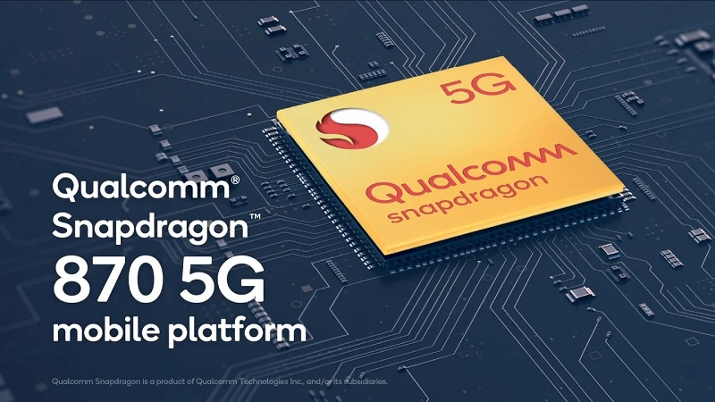 Basically, the Snapdragon 870 is considered the Snapdragon 865 ++