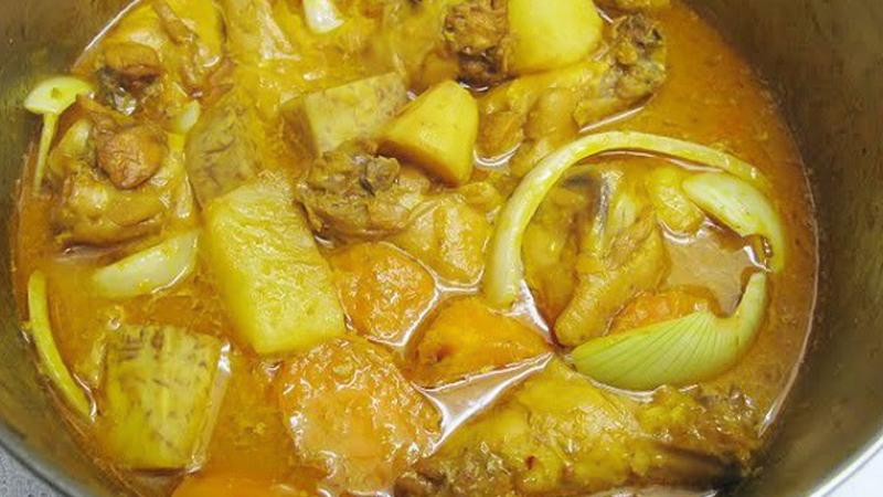 Nấu cà ri vịt nước cốt dừa