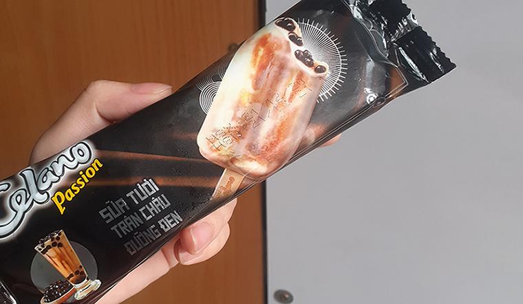 """Ăn thử """"siêu phẩm"""" kem sữa tươi trân châu đường đen Celano, vị ngon đỉnh của đỉnh"""