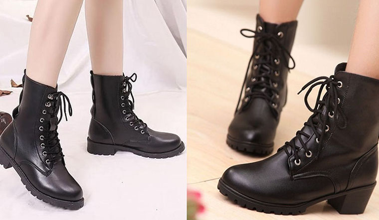 Tổng hợp 7 kiểu giày boots xịn xò cho nàng diện đi chơi tết