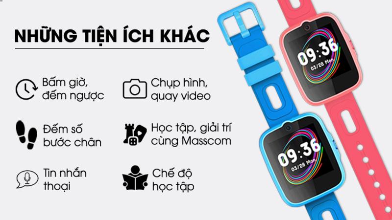 Masstel Super Hero 4G: Đồng hồ định vị trẻ em giá tốt, thiết bị công nghệ giúp phụ huynh giám sát con trẻ từ xa