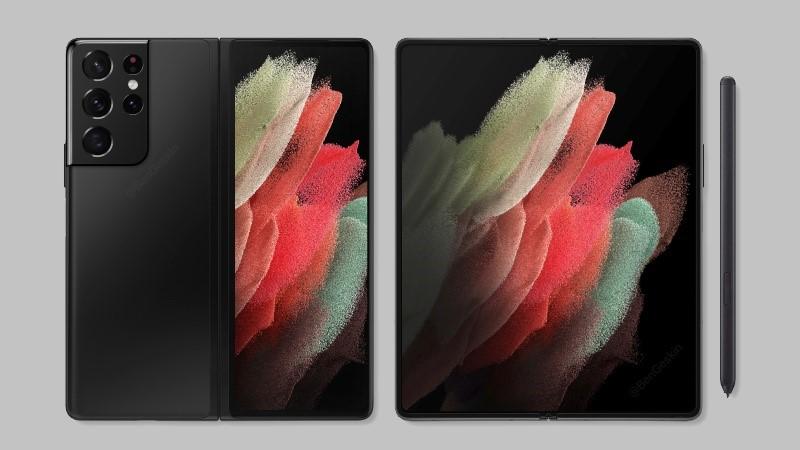 Galaxy Z Fold 3 lộ ảnh render chất lượng cao đầu tiên