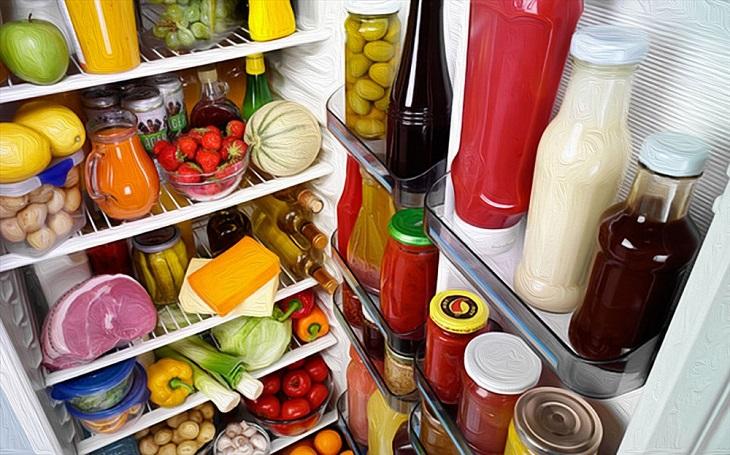 Tủ lạnh chứa quá nhiều đồ