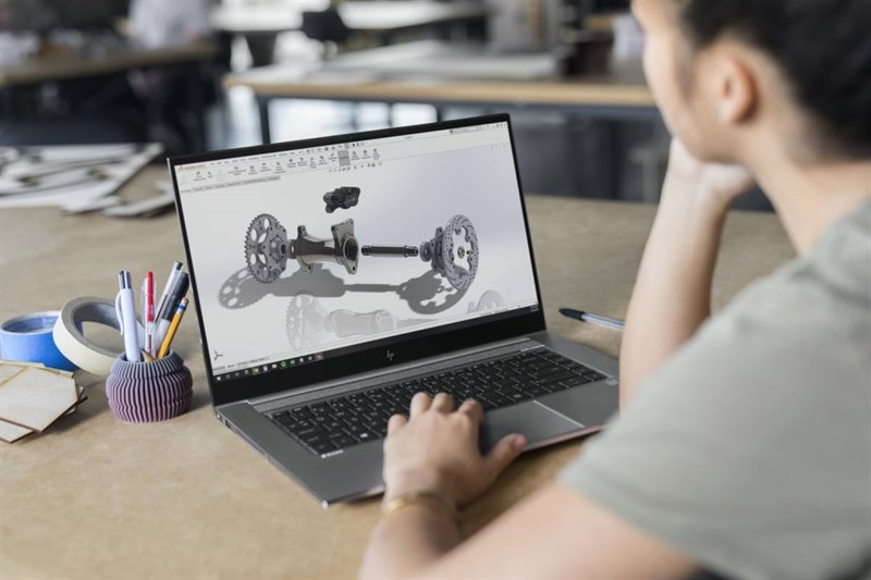 HP ZBook Studio G7 can serve you in all needs from work to play.