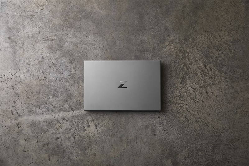 The traditional HP logo has been replaced with the Z logo on the HP ZBook Studio G7