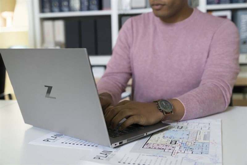 The HP ZBook Studio G7 gives users powerful performance.