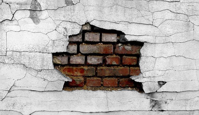 Những cách xử lý vết nứt trên tường nhanh chóng