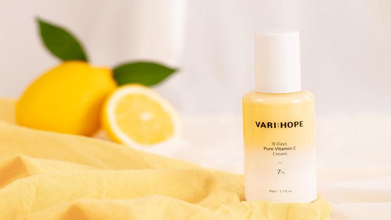 Kem dưỡng trắng da Varihope 8 Days Pure Vitamin C Cream 7%