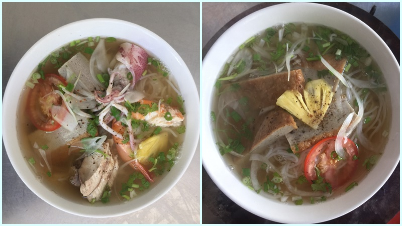 Bún cá Nha Trang - Sài Gòn quận 7