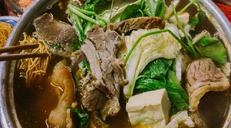 Cách nấu lẩu bò hầm sả thơm nức mũi, thịt bò mềm như người miền Tây