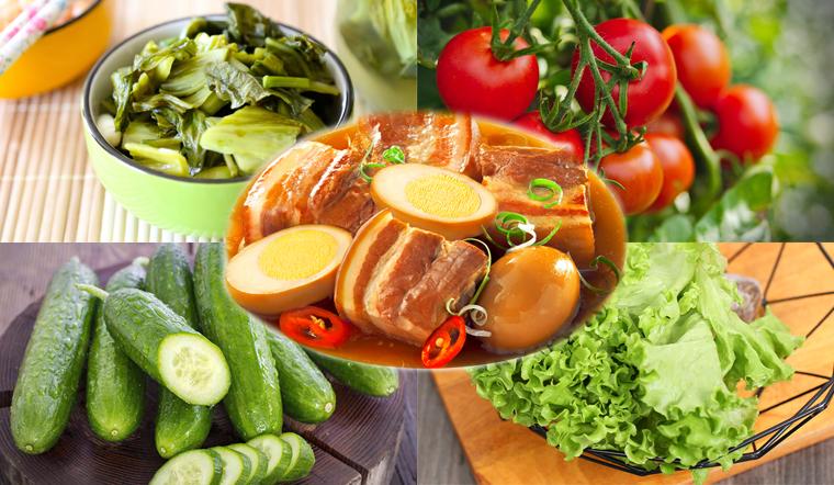 Không phải cải chua, đây mới là thực phẩm tốt nhất để kết hợp cùng thịt kho tàu