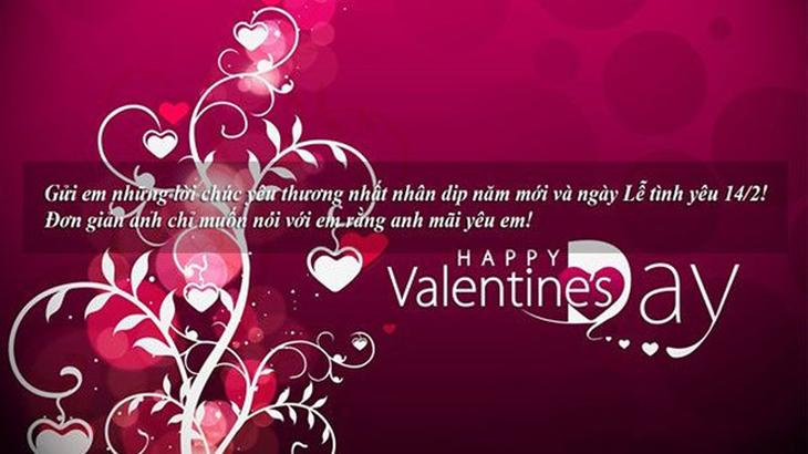 Những lời tỏ tình ngọt ngào cho nàng ngày Lễ tình nhân