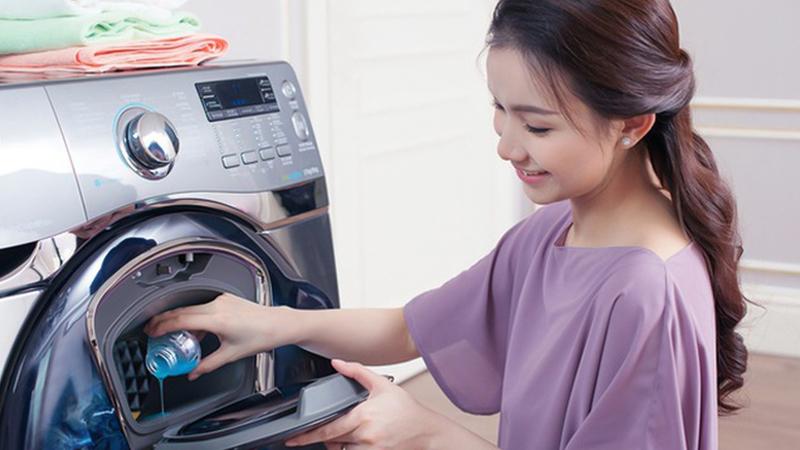 Dùng máy giặt để tẩy mủ chuối, mủ trái cây.