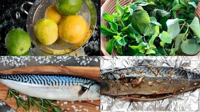 Sơ chế món cá saba nướng giấy bạc