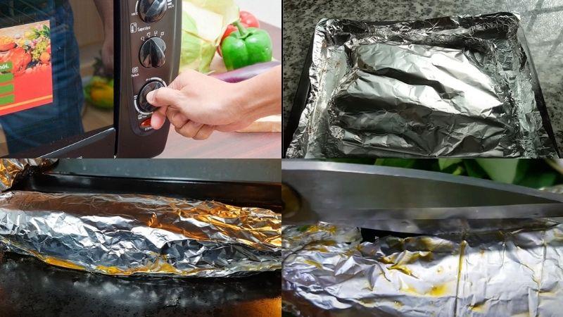 Chế biến món cá saba nướng giấy bạc