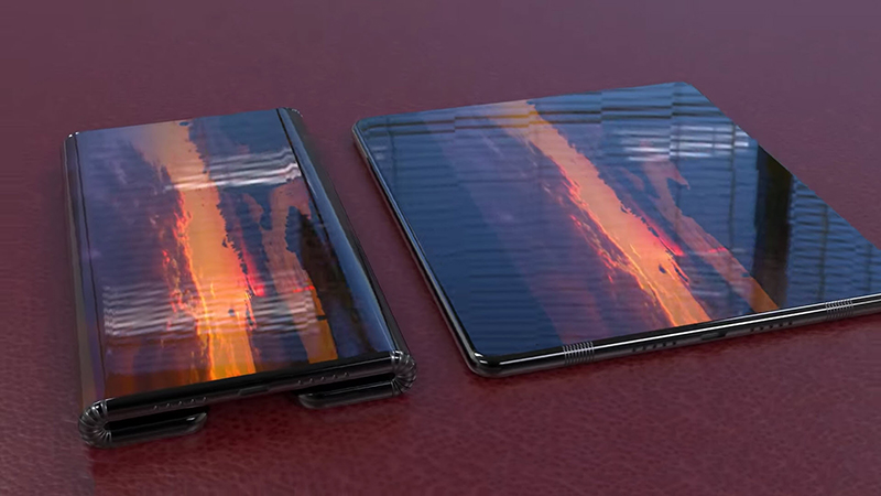 Xiaomi Mi MIX Fold is equipped with a large screen with high resolution