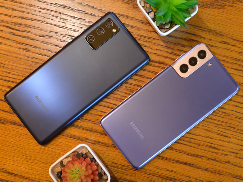 Last year's Samsung Galaxy S20 FE was equipped with a 120 Hz display