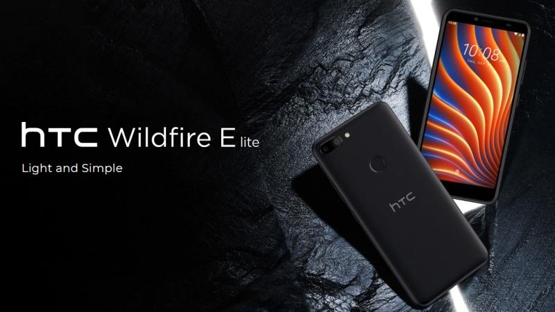 HTC Wildfire E lite ra mắt: Thiết kế nhỏ gọn, camera kép sau, chạy Android 10 Go, giá chỉ 2.4 triệu đồng