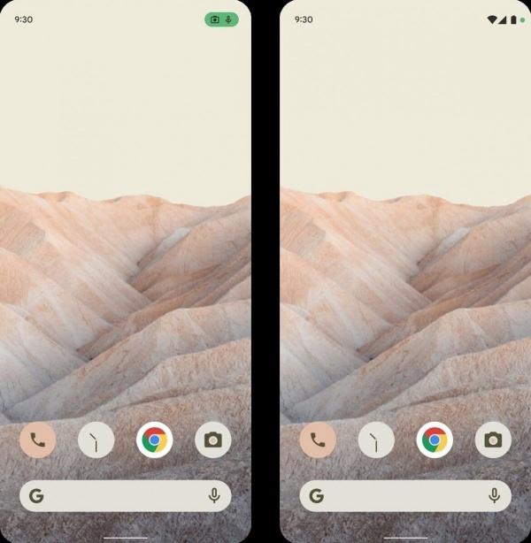 Giao diện màn hình chính của Android 12