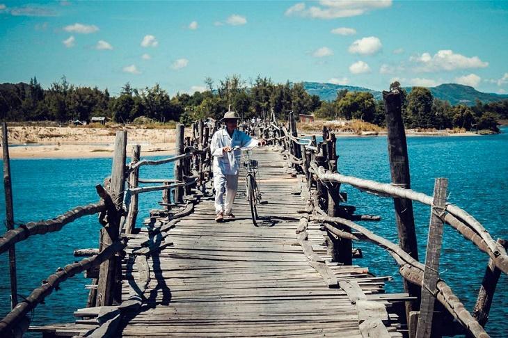cầu gỗ cọp