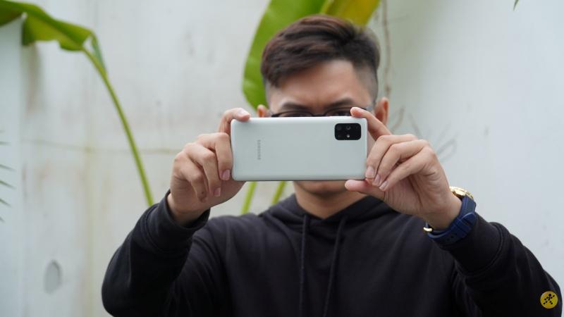Samsung Galaxy A52 có thông số camera sau tương tự Galaxy M51
