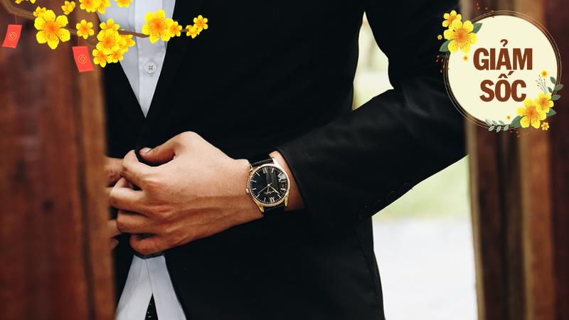 Đồng hồ trao tay, vui Tết sum vầy, sắm ngay đồng hồ thời trang Pierre Cardin siêu xịn siêu sang giảm khủng 60%