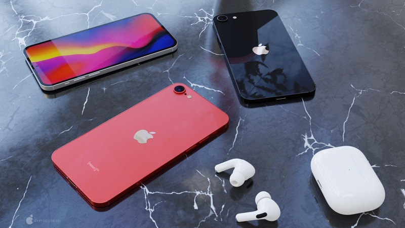 Outline appearance of iPhone SE 3. Source: Svetapple.sk.