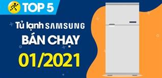 Top 5 Tủ lạnh Samsung bán chạy nhất tháng 01/2021 tại Điện máy XANH