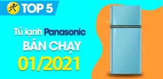 Top 5 Tủ lạnh Panasonic bán chạy nhất tháng 01/2021 tại Điện máy XANH