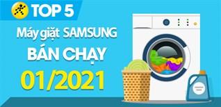Top 5 Máy giặt Samsung bán chạy nhất tháng 01/2021 tại Điện máy XANH