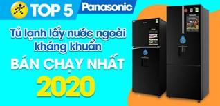Top 5 Tủ lạnh Lấy nước ngoài kháng khuẩn, khử mùi Panasonic bán chạy nhất năm 2020 tại Điện máy XANH