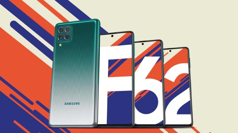 Samsung Galaxy F62 ra mắt: Màn hình Super AMOLED Plus bao đẹp, dùng chip của Galaxy Note 10, pin 7.000mAh, giá từ 7.6 triệu đồng