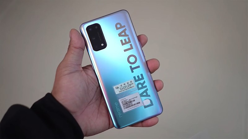 Realme X9 will also have the slogan 'Dare to leap' in capital letters like on the Realme X7 Pro (pictured).  (Source: XYZONE)