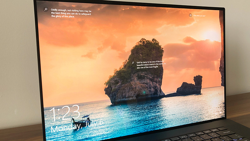 Dell XPS 17 (2020) has a stunningly beautiful display