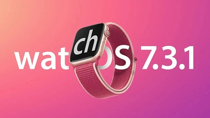 Bản cập nhật watchOS 7.3.1