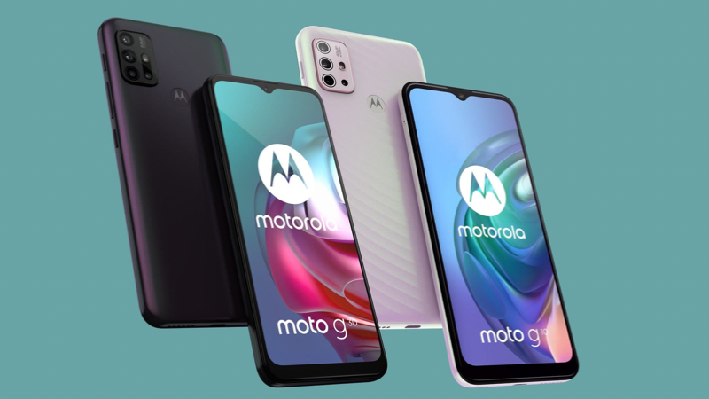 Motorola Moto G10 and G30 both have very attractive prices.  (Source: Motorola).