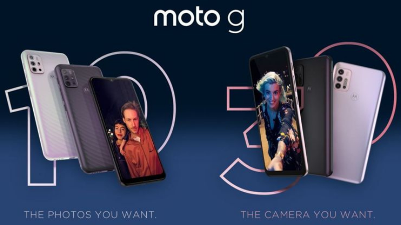 I am impressed with the color options of the Motorola Moto G30.  (Source: GSMChoice).