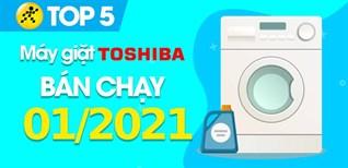 Top 5 Máy giặt Toshiba bán chạy nhất tháng 01/2021 tại Điện máy XANH