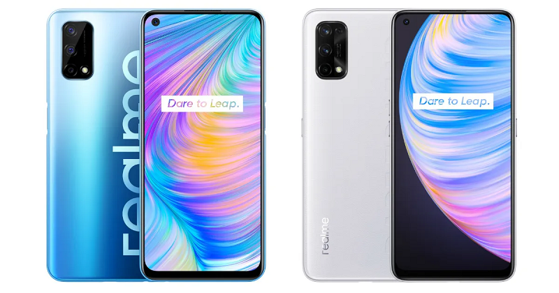 The design of Realme Q2 has been launched before
