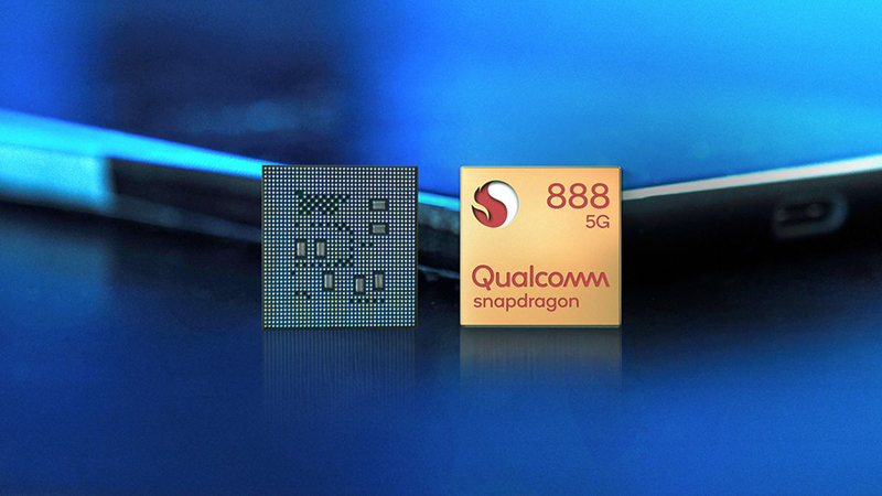 The Snapdragon 888 is powered by the Realme GT 5G