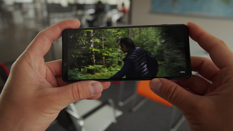 The Sony Xperia 5 III has a cinematic 'golden' ratio display