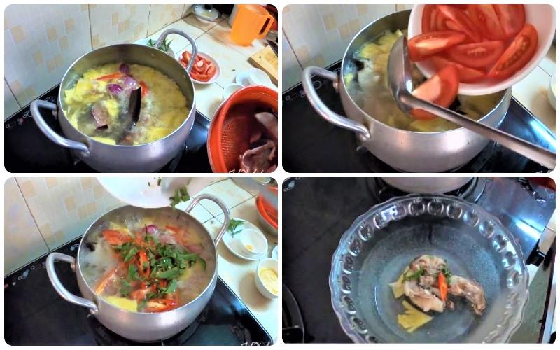 Cách làm canh chua cá ngát