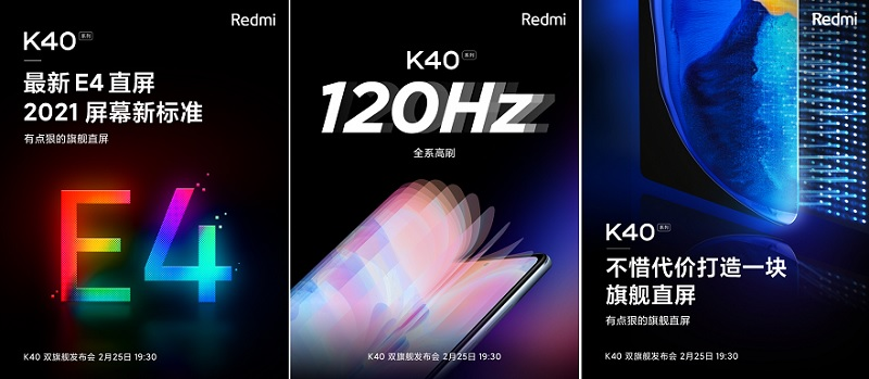 Poster Redmi K40 series