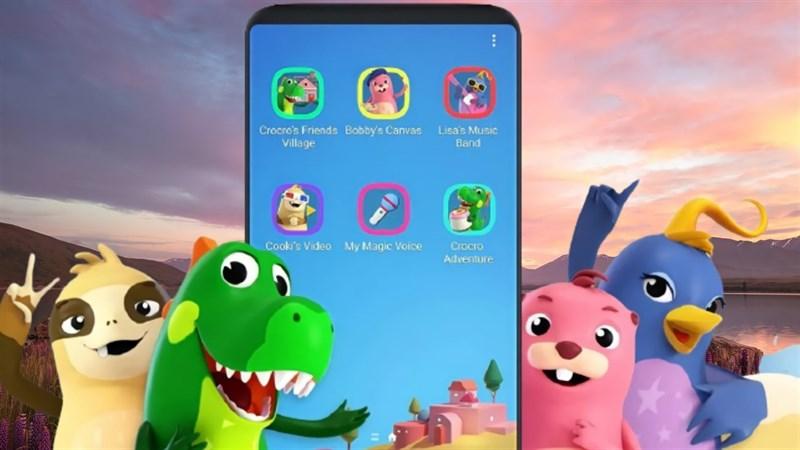 Cách sử dụng chế độ Kids Home dành cho trẻ em trên điện thoại Samsung siêu đơn giản