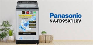 Review máy giặt NA-FD95X1LRV của Panasonic