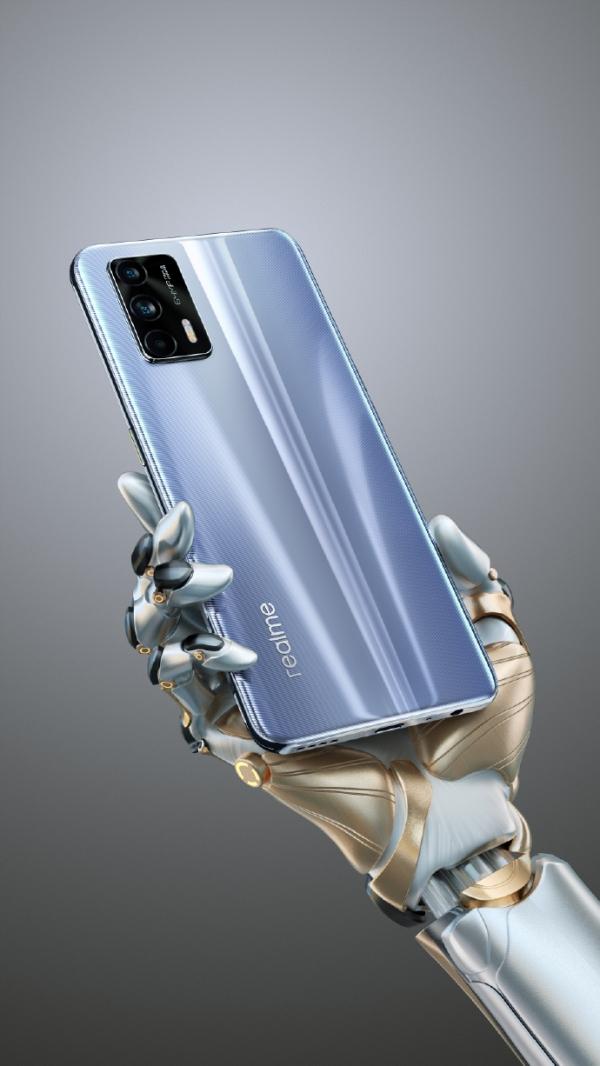 Realme GT 5G có cổng âm thanh 3.5 mm