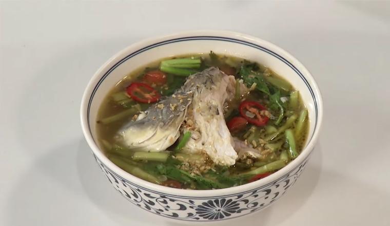 Cách nấu canh cá rau cần món ngon chống ngán sau Tết
