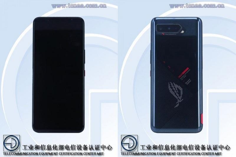 Design leak of ROG Phone 5
