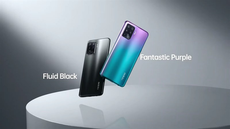In addition, the 4-camera cluster of the Reno5 F has a different design, looks more square, not a long rectangle like the other Reno5.  I feel this camera design is not too big and it looks like the Galaxy S20 Ultra.